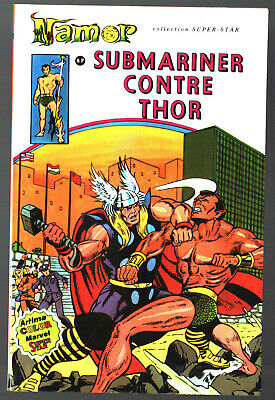 NAMOR n°4 ¤ SUBMARINER CONTRE THOR ¤ 1979 ARTIMA COLOR MARVEL SUPER STAR