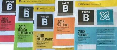 ICAS Past papers Year 4 (Paper B) 57 Papers with answers Including 2018