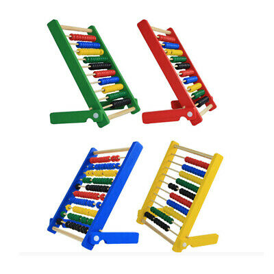 Wooden Abacus Educational Toy Maths Counting Bead Kids Learning Children Toys LC