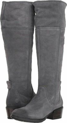 TIMBERLAND SUTHERLIN BAY Slouch Boot Back Zip Women's Sz 10