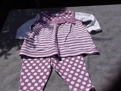 girls outfit 0-3 months Girls Leggings Top