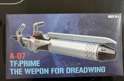 Transformers SXS A-06 Weapon kit for TFP SKYQUAKE