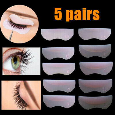 5Pairs Eyelash Perming Kit Lash Lifting Curling Set Pad Cilia Lift Perm Silicone