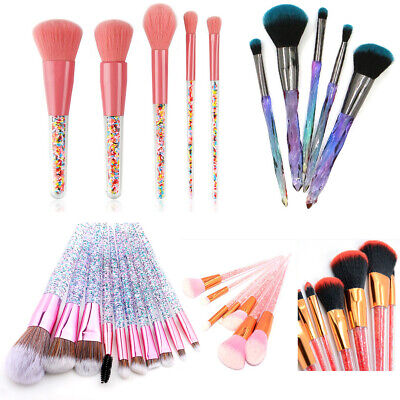 Latest Make up Brushes Set Cosmetic Kabuki Eyeshadow Makeup Foundation Brush Kit