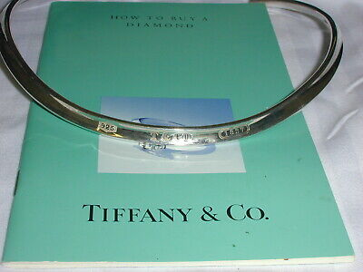 Tiffany & Co Sterling 1837 Collar Choker Necklace- 1997- Authentic Guaranteed!