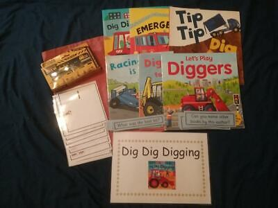 Dig Dig Digging by Margaret Mayo Story Resources, Books & Sack