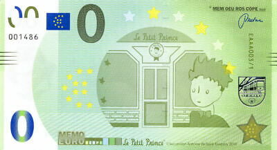 75006 Le Petit Prince, 2018, Memo Euro Scope