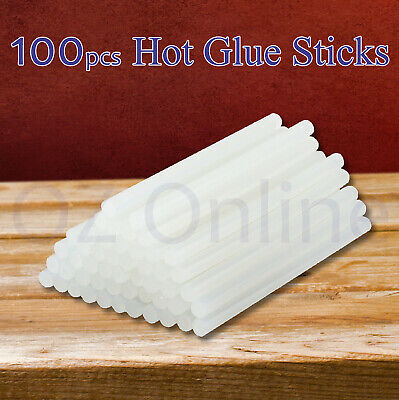 Glue Sticks Hot Clear Melt Glue Adhesive Sticks 100pcs Stickes For Glue Gun