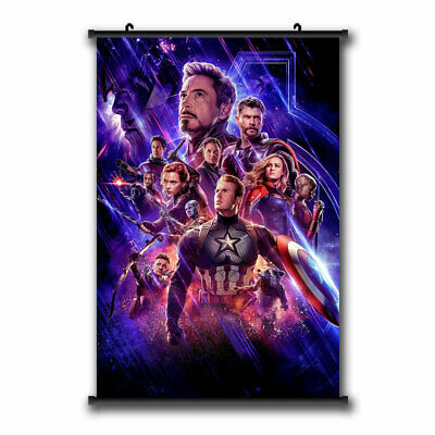 Movie Avengers: Endgame Superheroes Poster HD Canvas Printed Home Decor Painting