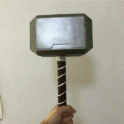 1:1 Scale Thor's Thunder Hammer Avengers Endgame Prop Cosplay Safe US STOCK