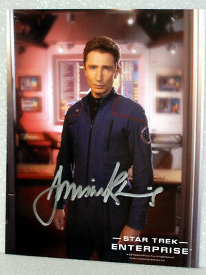 Dominic Keating STAR TREK ENTERPRISE AUTOGRAPH
