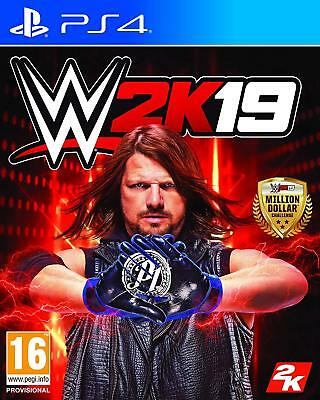 Wwe 2K19 (Ps4)  Brand New And Sealed - In Stock - Quick Dispatch