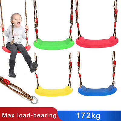 Children's Replacement outdoor Swing Seat Height Adjustable Rope Climbing Frame