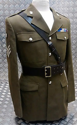 Genuine British Army Issue Officers Sam Browne Belt Leather Assorted Sizes