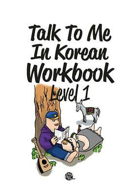 Talk to Me in Korean Workbook Level 1 Paperback New learning Korean