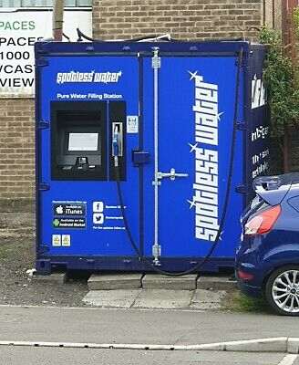 Water Fed Pole, Window Cleaning, Pure Water Filling Station - Newcastle