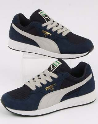 PUMA RS 1 OG Trainers in Royal Blue & Navy retro runners