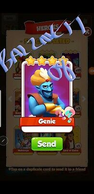 Coin Master Cards Genie. Instant Delivery!!!