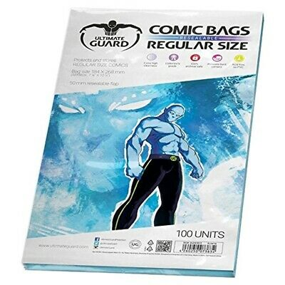 Comic Bags Resealable Regular Size (100)
