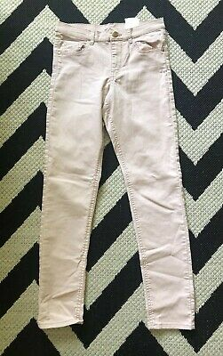☀H&M☀Age 10-11 years☀Girls Blush Rose Pink Skinny Slim Trousers☀