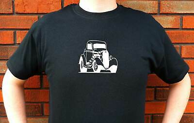 1933 Ford Coupe Detailed Hotrod Graphic T-Shirt Tee Funny