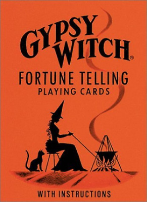 --Gypsy Witch Fortune Telling Playing Cards ACC NEW
