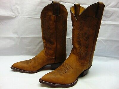 6082fac42b8ab Justin Bay Apache Cowgirl Western Women's 8 B Riding Work Rodeo Boots  #L-4935