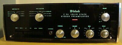 McIntosh C-26 Preamp Solid State C-late 60's