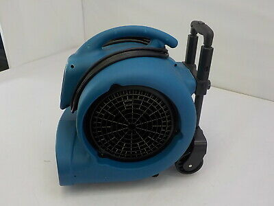 XPOWER P-800H - 3/4 HP 3200 CFM 3Speeds Professional Air Mover Carpet Dryer Fan