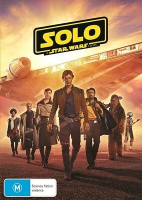 SOLO: A Star Wars Story : NEW DVD