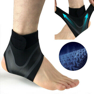 1PC Adjustable Sports Elastic Ankle Brace Support Basketball Protector Foot Wrap