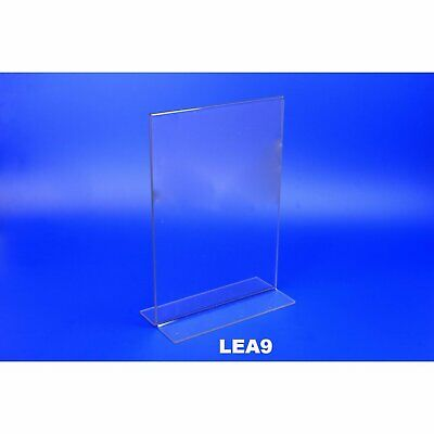 Acrylic Double Sided Sign Holder Menu Stand A3 A4 A5 DL Box of 10