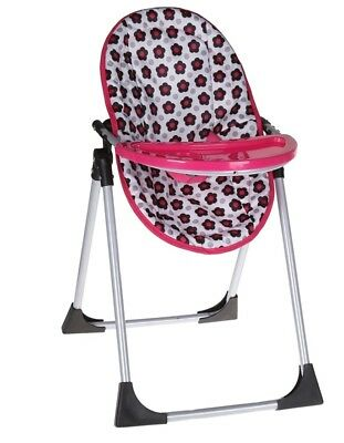 DOLLS 6 in 1 HIGHCHAIR SWING Doll Carrier Nappy Bag Little Girls Pretend Play
