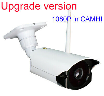Wireless WiFi Outdoor 1080P 2 MP IR IP Camera Speaker MIC SD card slot CamHi APP