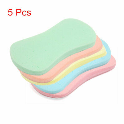 5pcs Multicolor 8 Shaped Compressed Expanding Car Body Cleaning Washing Sponge