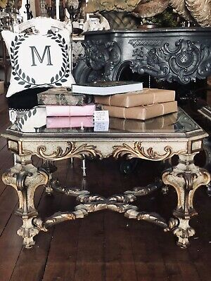 French Rococo Baroque Style Side Table or Coffee Table