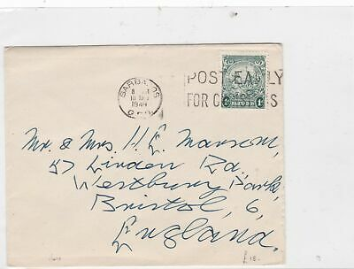barbados 1948 stamps cover Ref 9921