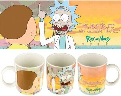 Mugs--Rick and Morty - Butthole Mug
