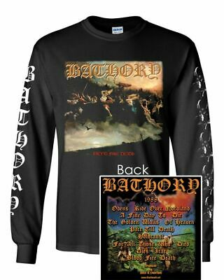 BATHORY Blood Fire Death Long Sleeve T SHIRT S-2XL New Official Kings Road Merch