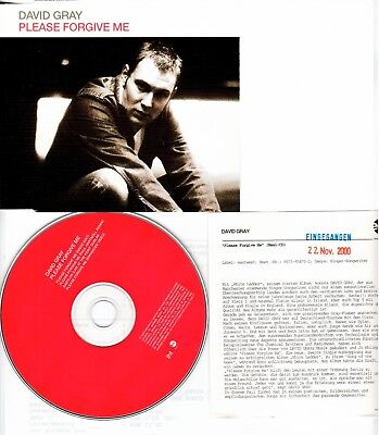 David Gray * Please Forgive Me * RARE 4-Track EP ( Promo-Version )
