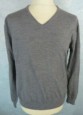 GUESS PULL HOMME Taille XXL Gris Col V EUR 8,00