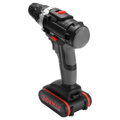 36V Electric Impact Cordless Drill High-power Wireless Rechargeable Drills S8Z2