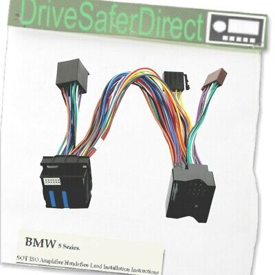 AMPLIFIER-INSTALL-0442-201 ISO SOT Breakout T-Harness for BMW 5 Series E60 F10