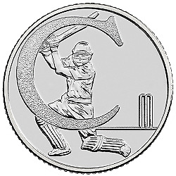 A-Z (2019) ALPHABET 10p - LETTER (C) FOR CRICKET  UNCIRCULATED