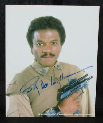 Billy Dee Williams ( Londo ) Star Wars Autógrafo