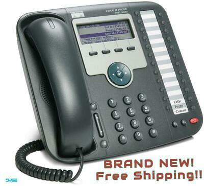 BRAND NEW!! Cisco Phone Unified IP Phone 7931G UC VoIP CP-7931G= + Free Shipping