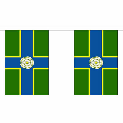 West Riding of Yorkshire British County 6 metre long 20 flag bunting
