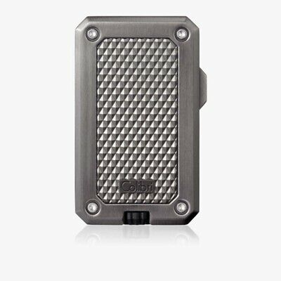 Colibri Rally Single Jet Flame Gunmetal Lighter