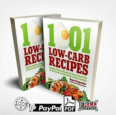 1001 Low-Carb Recipes (eBook, PDF) Master resell rights with Free shipping