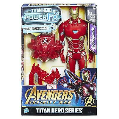 Marvel Avengers Infinity War Titan Hero Power FX Iron Man Action Figure